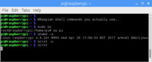 Raspberry Pi shell