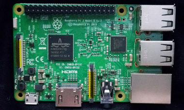Raspberry Pi 3 Model B top layer